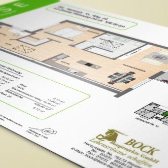 Grundrisse für Wohnoase, Bock Bauprojekte GmbH