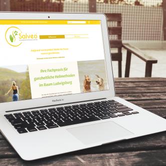 neue Website für Salveo online