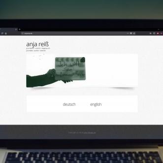 Website für Regisseurin / Journalistin Anja Reiss