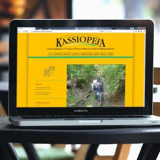 Neue Website für Reittherapie Kassiopeia