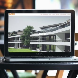Website für URBANEO Mehrfamilienvillen in Gerlingen